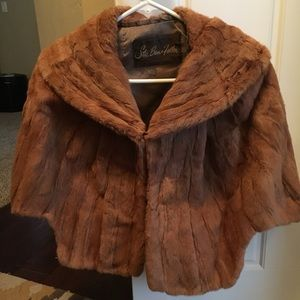 Perfect condition Vintage Mink Shawl one size, S-L